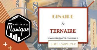 Rythme Binaire Et Ternaire - Enseigner La Musique